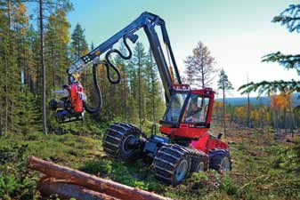 Established Komatsu Forest AB acquiring Partek Forest AB, a manufacturer and distributer of forestry equipment in Sweden.